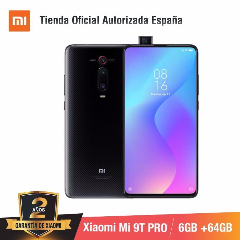 Global Version For Spain] Xiaomi Mi 9T PRO (Memoria Interna De 64GB, RAM De 6GB, Triple Cámara De 48 MP Con IA) Smartphone
