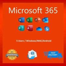 Компьютер настольный ноутбук офис 365 для Windows Macbook M1 Ipad Iphone IOS Android планшет многоязычный✅100% оригинал✅100% доверие
