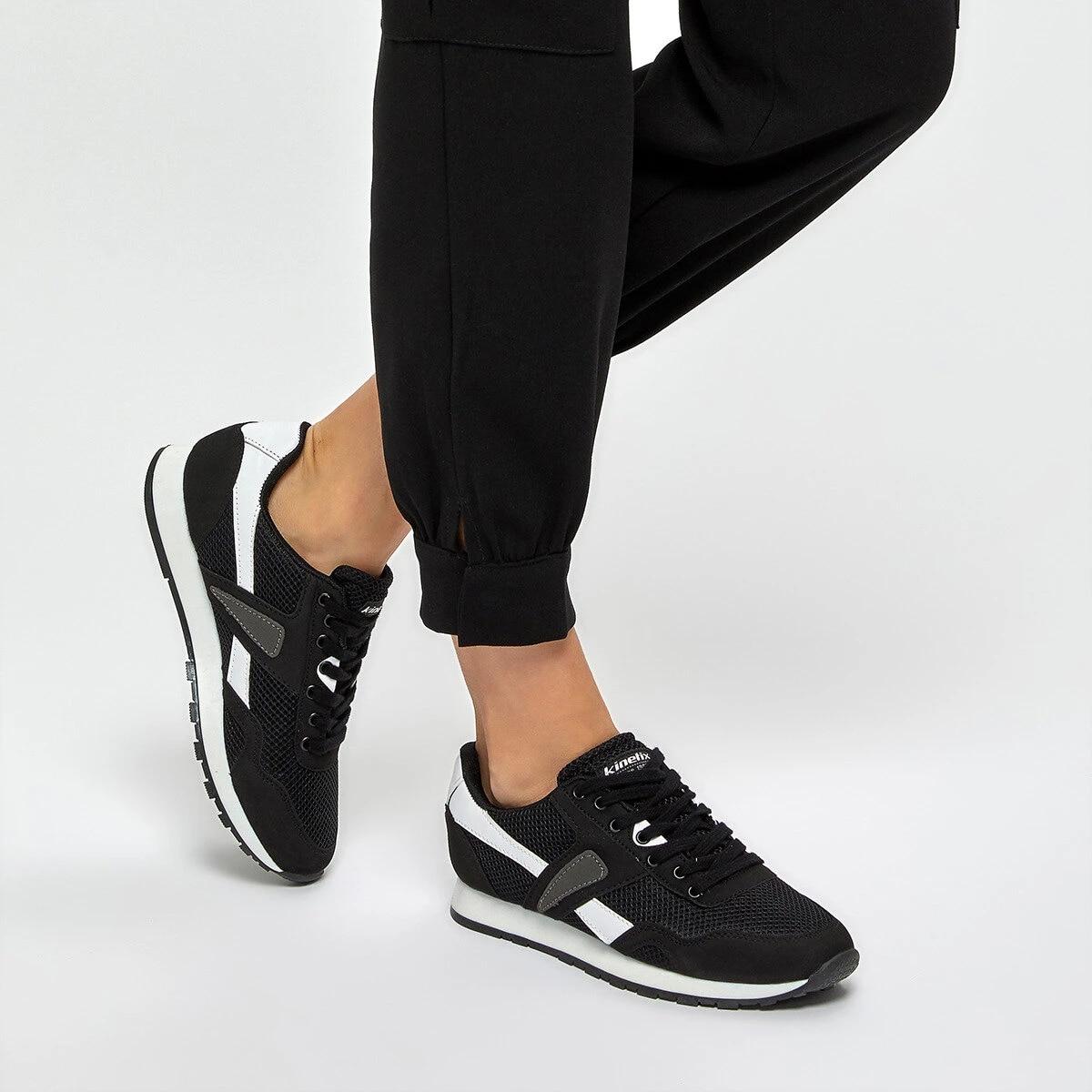 flo elsa black women s sports shoes kinetix