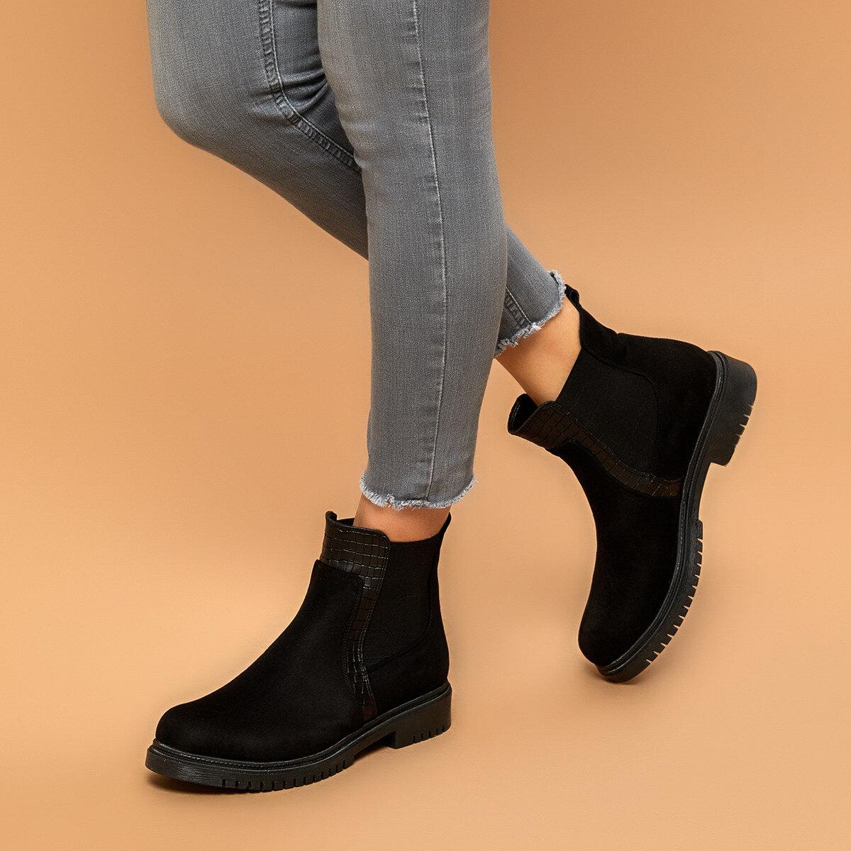 FLO KRUSE Black Women Boots BUTIGO