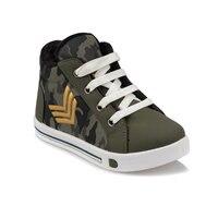 FLO 92. 510834. p caqui masculino criança sapatilha sapatos polaris|Botas| |  -