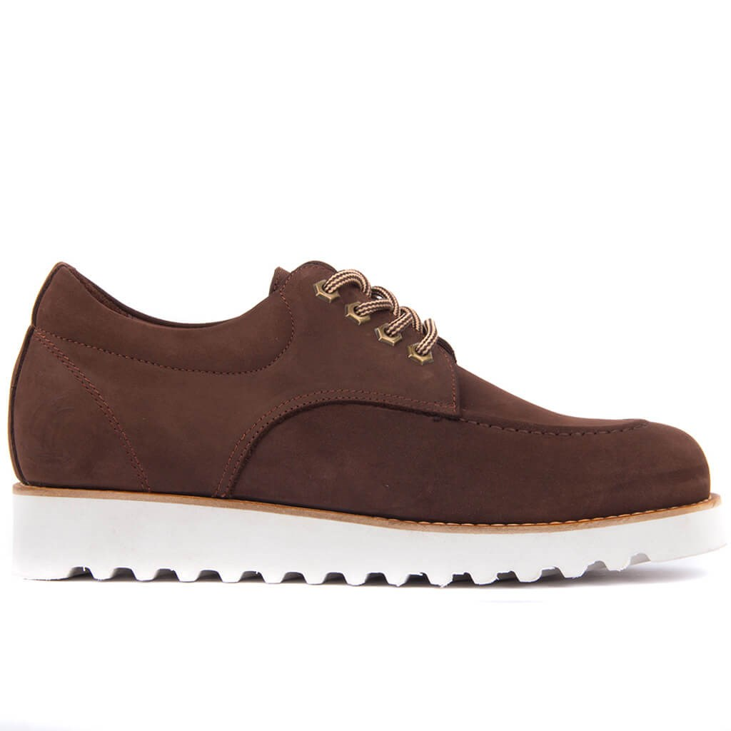 Sail Lakers-Brown Nubuck Daily Shoes