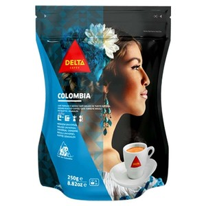 Cafe COLOMBIA, 250g ground coffee DELTA Cafes