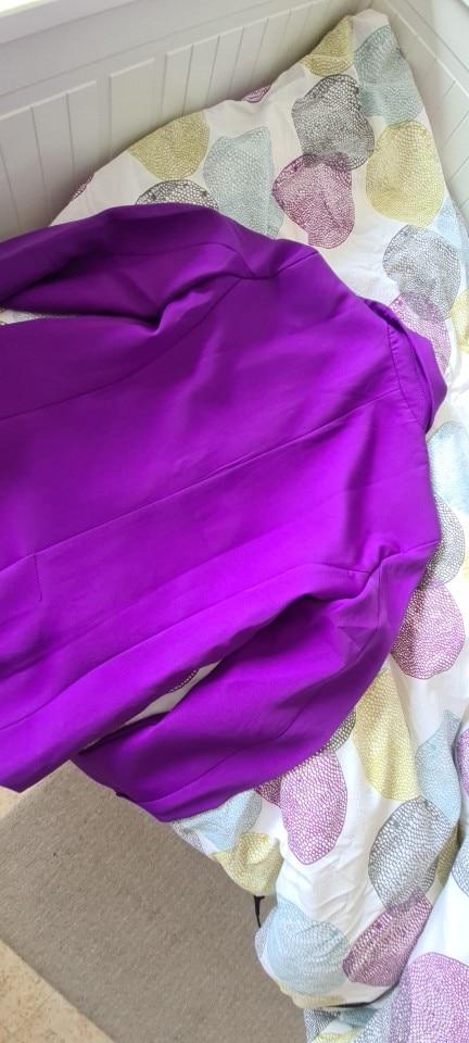 TRAF Women Fashion Office Wear Basic Blazer Coat Vintage Long Sleeve Pockets Female Outerwear Chic Tops reviews №3 1026502
