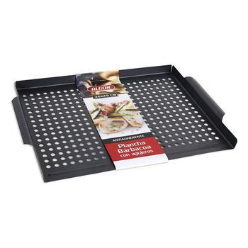 Griddle with  Holes for the Barbecue Algon (36 x 29 cm)