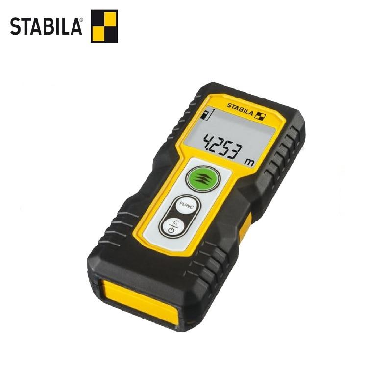 STABILA Laser Rangefinder LD 220 (0.2-30 m, accuracy ± 3.0 mm) Laser Tape rangefinder for assembly measuring device ruler leitz hld40 handheld laser rangefinder 50 m laser foot electronic ruler