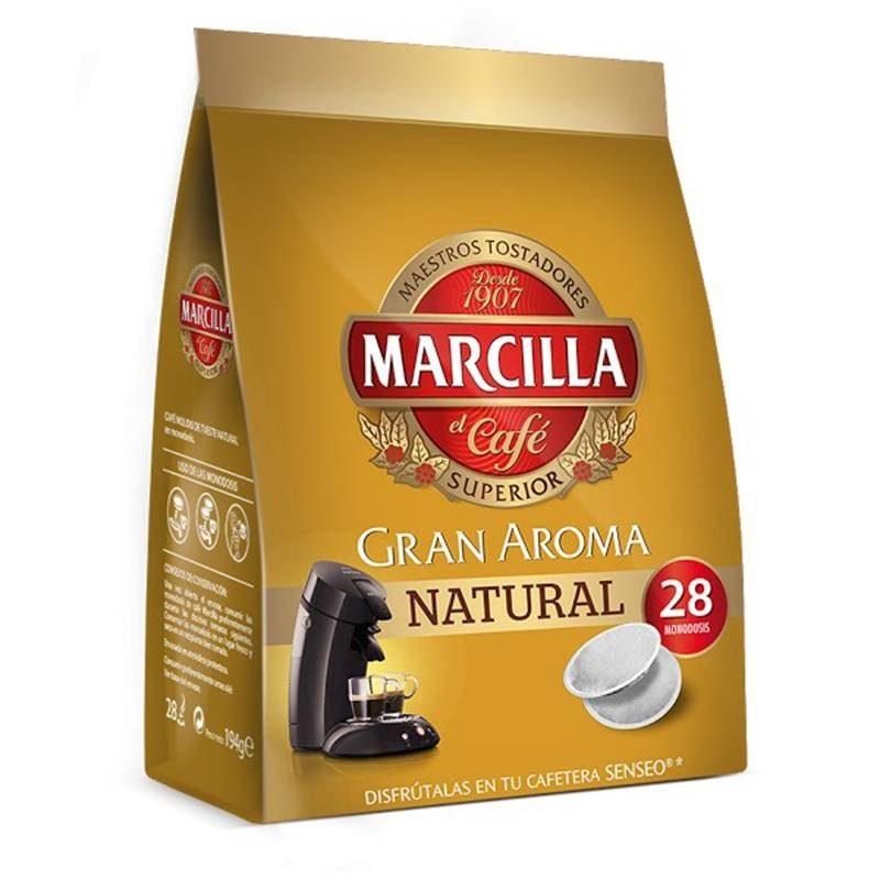 LIFELIKE Coffee Marcilla, 28 Pods SENSEO