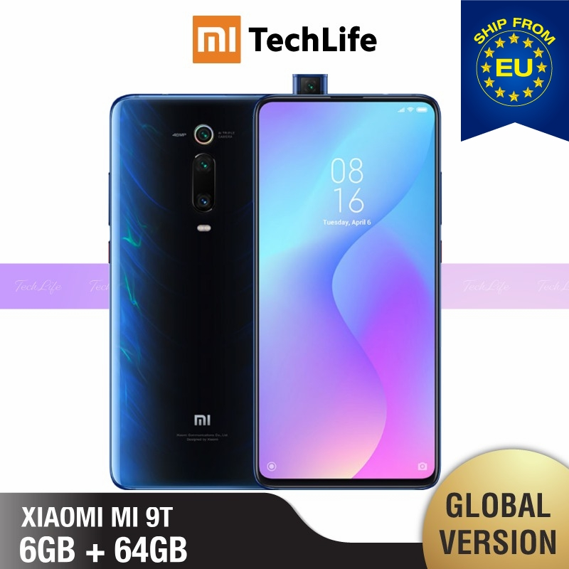 Global Version Xiaomi Mi 9T 64GB ROM 6GB RAM (Brand New / Sealed) Mi 9t, Mi9t, Mi 9, Mi9 Smartphone Mobile