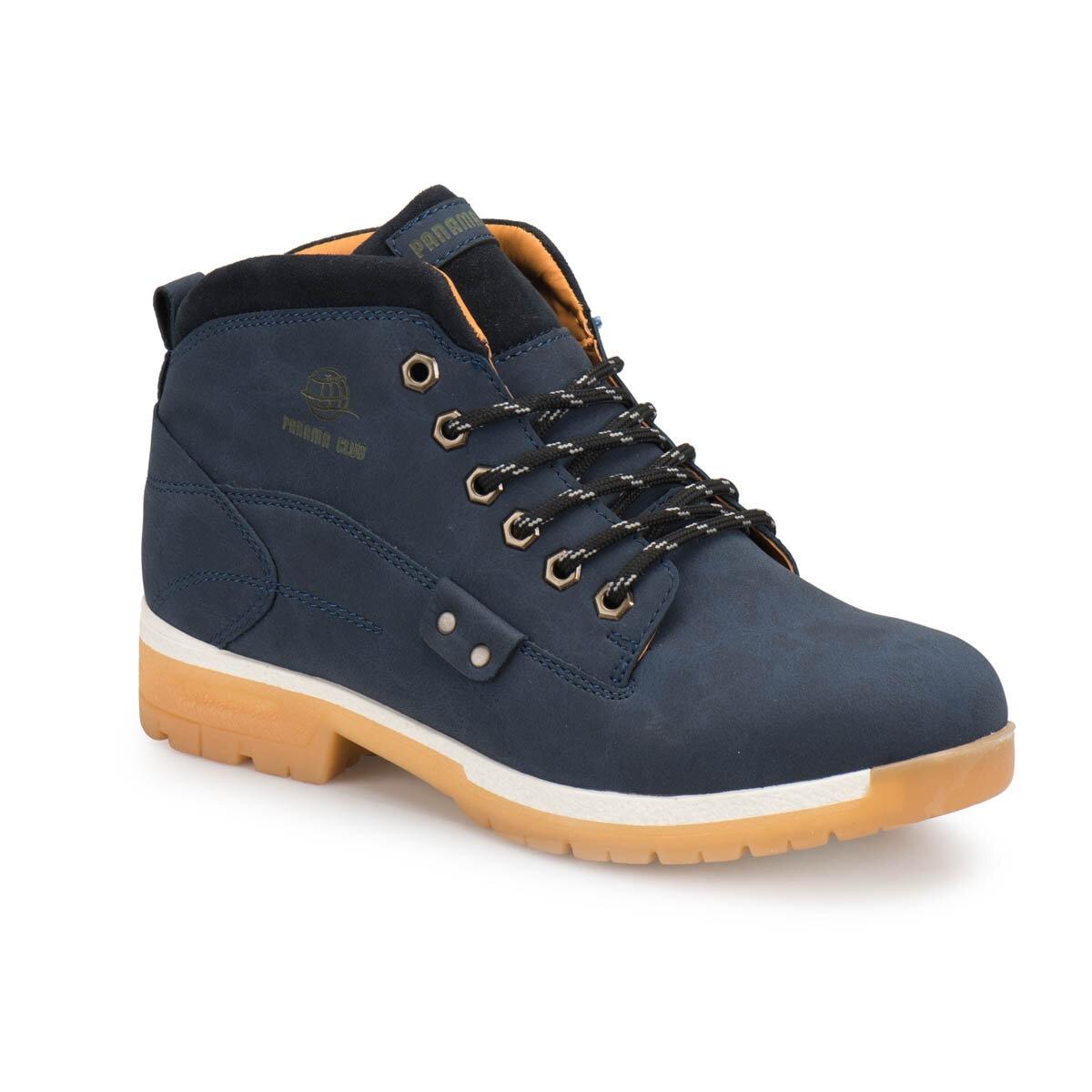 FLO 594 Navy Blue Men 'S Boots Panama Club