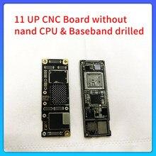 Placa cnc perfurado cpu baseband sem flash nand para iphone 11 11p icloud bloqueado placa-mãe remover cpu baseband swap mainboard