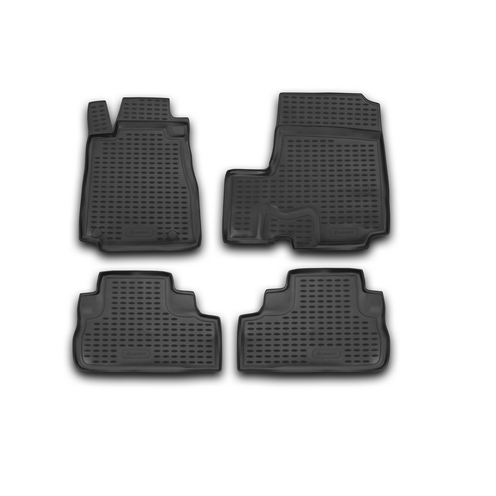 Floor Mats For HONDA CR-V III 2007-> 4 PCs NLC.18.15.210k