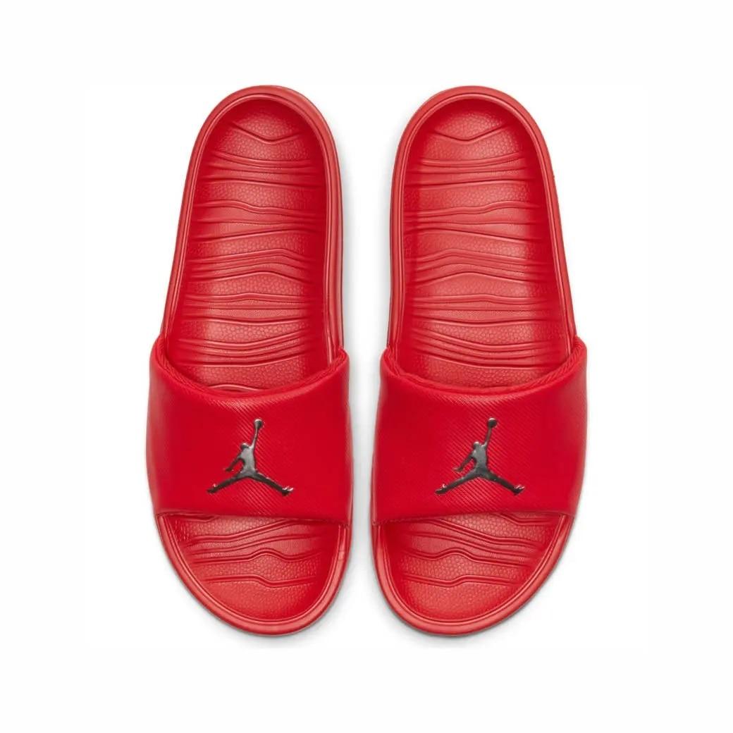 Nike-zapatillas Originales Jordan Break Slide Para Hombre, AR6374-602 Rojo, Informales, Elegantes, De Baloncesto, Para Verano