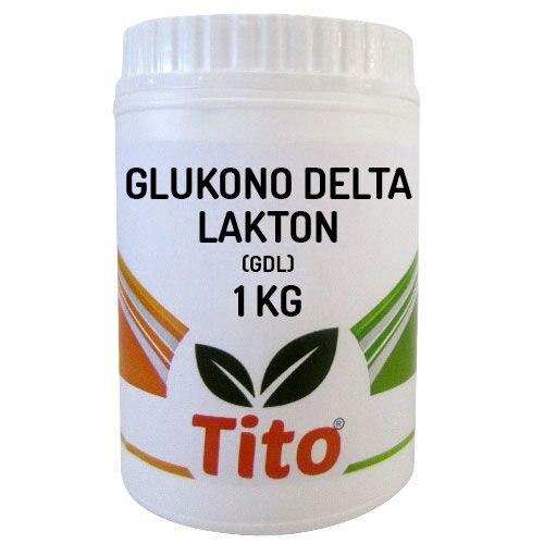 Tito Glukono Delta Lactone (GDL) E575 1 Kg