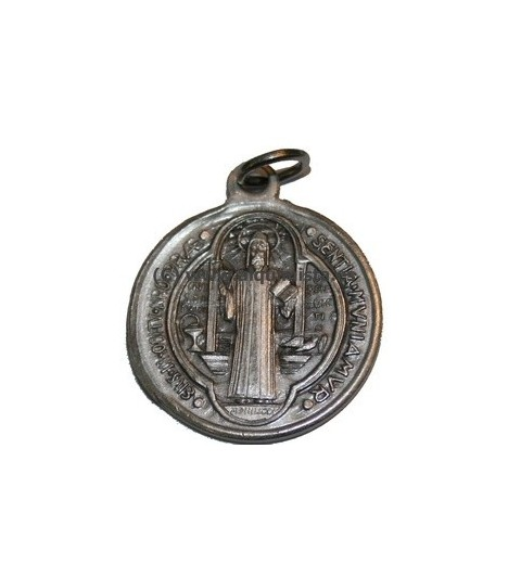 SAINT BENEDICT MEDAL WITH CROSS