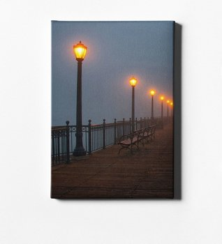 Personalized Led Canvas Print (50x70 cm.) Vertical