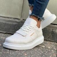 Chekich CH073 IT Men 'S Shoes WHITE. 100% Vegan 100% Cotton Shoe sneaker air van chaussure loafer trainer uomo money footwear