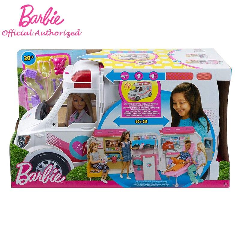 2019 barbie menina boneca brinquedo clinica veiculo 05