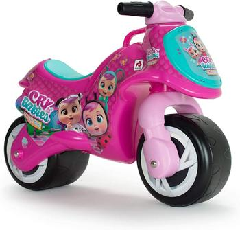 INJUSA-children's toy bike CRY BABIES, running corridors with two wheels for girls and boys + 18 months, pink, plastic недорого