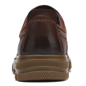 Image 4 - ใหม่ของแท้รองเท้าหนังผู้ชายแนวโน้มธุรกิจสบาย Matte Texture สวมใส่ Anti slip รองเท้าสบายๆ