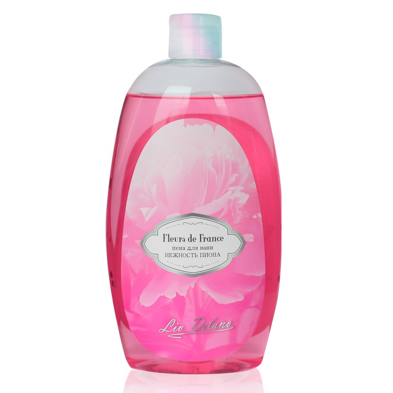 Foam Bath Soft Peony Series Fleurs De France 730g