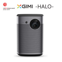 XGIMI Halo Mini projecteur Portable 1080P Full HD 3D Home cinéma Android TV 9.0 Wifi avec batterie Google 800ANSI lumensn Proyect(China)