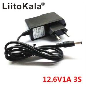Image 3 - LiitoKala 12.6 فولت 1A 3A 5A بطارية ليثيوم بوليمر 18650 شاحن ، 12.6 فولت محول الطاقة شاحن 12.6V1A ، كامل من أضواء تغيير