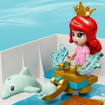 Конструктор LEGO Disney Princess Книга сказочных приключений Ариэль, Белль, Золушки и Тианы 6