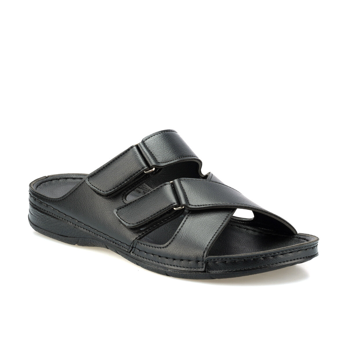 FLO 160225.M Black Male Slippers Polaris