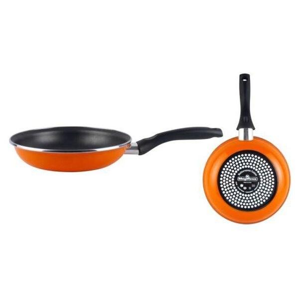 Non-stick Frying Pan Magefesa Valencia Ø 22 Cm Black Orange