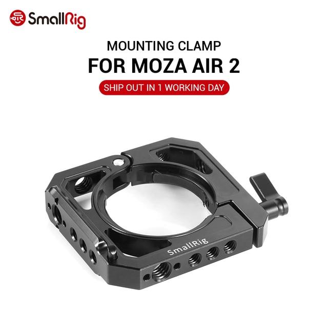 MOZA Air 2 용 SmallRig 마운팅 클램프 Nato 핸들 EVF 마운트 또는 마이크 DUY 옵션으로 부착 할 수있는 듀얼 카메라 조작 장치 BSS2328