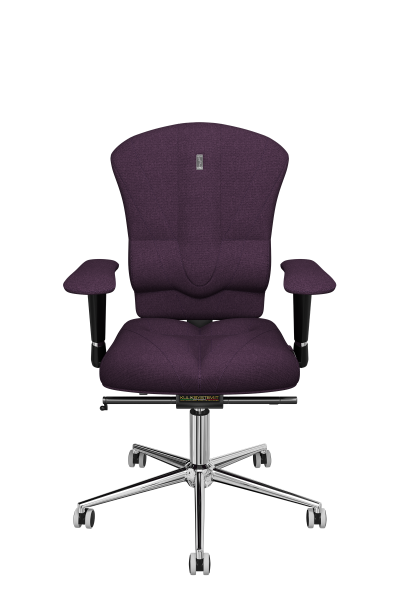 Office Chair KULIK SYSTEM VICTORY Purple Computer Chair Relief And Comfort For The Back 5 Zones Control Spine