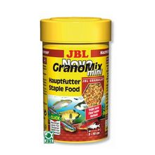 Корм для рыб JBL NovoGranoMix mini Refill Основной в форме смеси мини-гранул для мал. рыб,100мл
