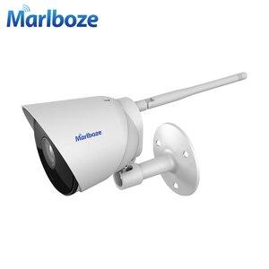 Image 2 - Marlboze 1080P wifi outdoor ip camera waterproof 2MP Bullet ip camera wireless tf card wifi CCTV home camera  APP control