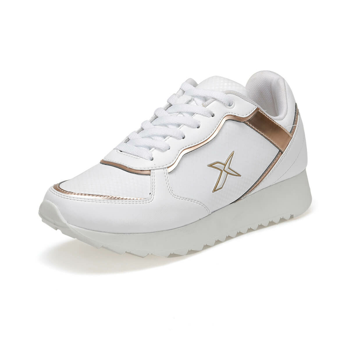 FLO AYRIS W 9PR White Women 'S Sneaker Shoes KINETIX