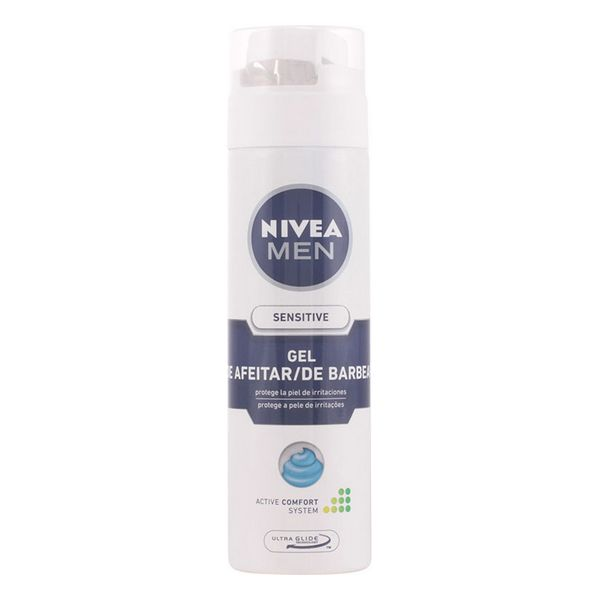 Shaving Gel <font><b>Men</b></font> Sensitive <font><b>Nivea</b></font> image
