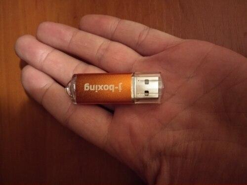 J-boxing USB Flash Drive 64GB 32GB Pendrive usb2.0 Memory Stick Jump Drive cle usb Storage Flash Drive for Computer 4GB 8GB 16GB reviews №1 57633