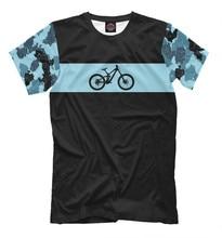 Males's T-shirt downhill bike