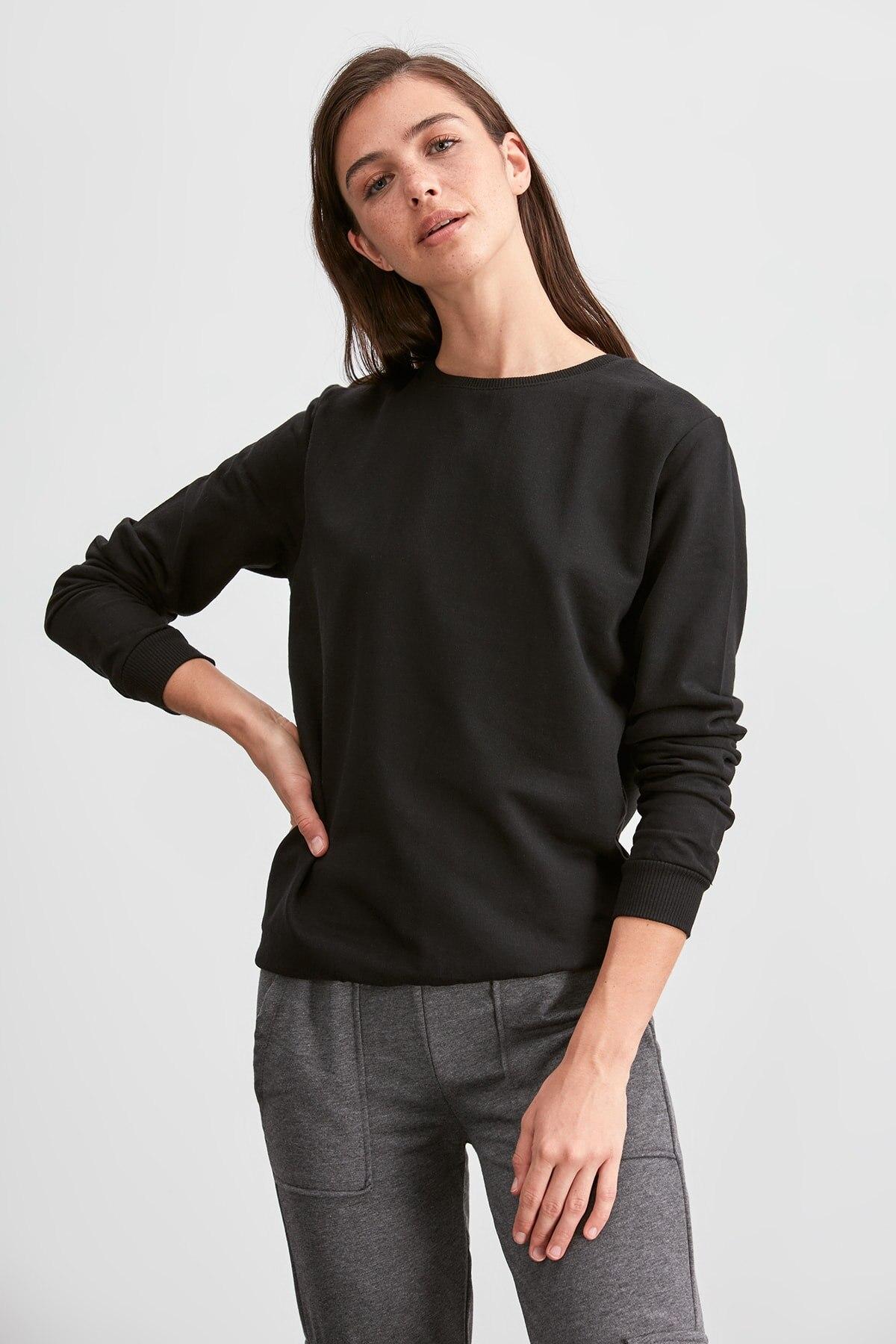 Trendyol Basic Knitted Sweatshirt TWOAW20SW0797