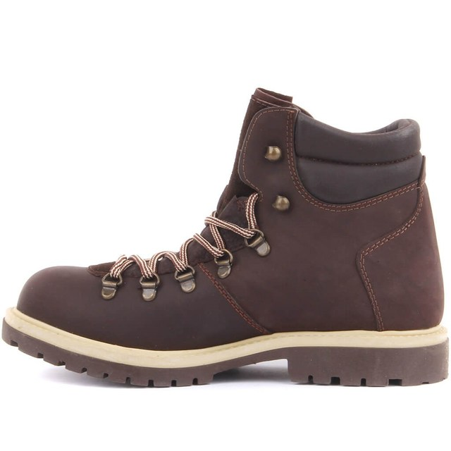 Sail Lakers-Brown Nu-buck Women's Boots