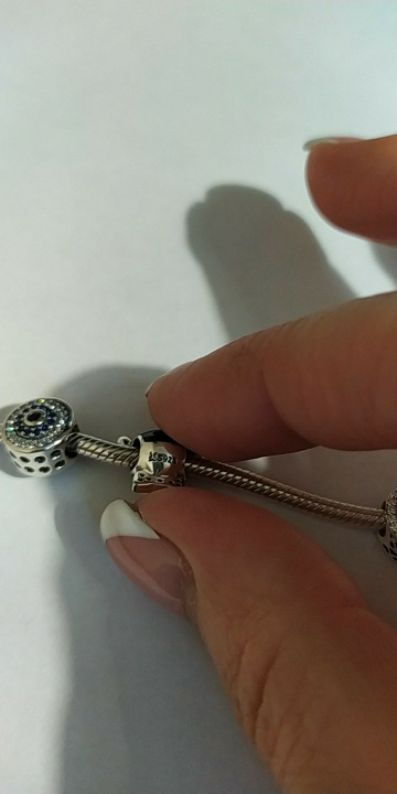 Sterling Silver Pug Charm photo review