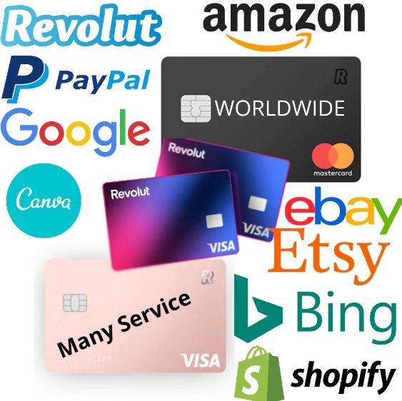 ✅VCC virtual credit card for PayPal, works worldwide