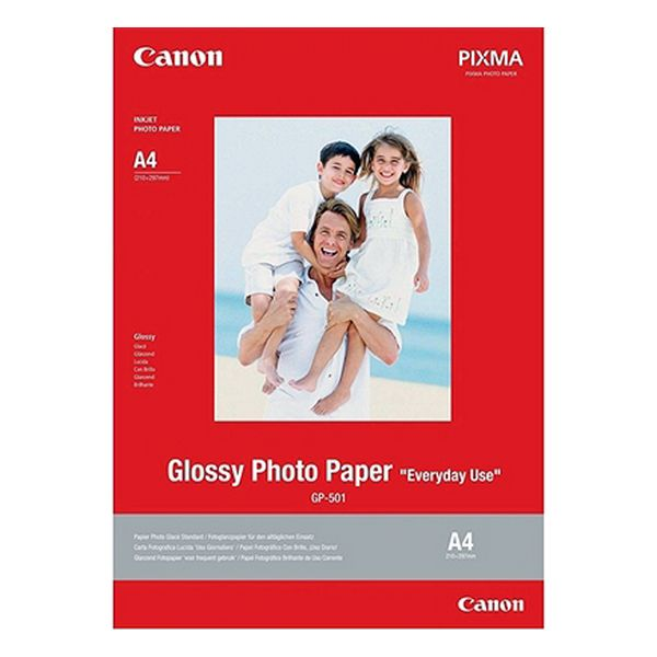 Glossy Photo Paper Canon GP-501 (20 Sheets)