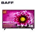 TV SMART TV Ultra HD 4K 43 zoll BAFF 43 4KTV-ATSr