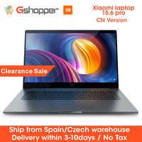 Oryginalny Xiaomi Notebook Laptop Pro 15.6 Intel i5-8250U/I7-8550U 16G ram DDR4 GeForce MX150 256G ssd 2G rozpoznawanie linii papilarnych