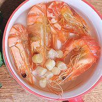 鲜美的冬瓜干贝虾仁汤的做法图解3