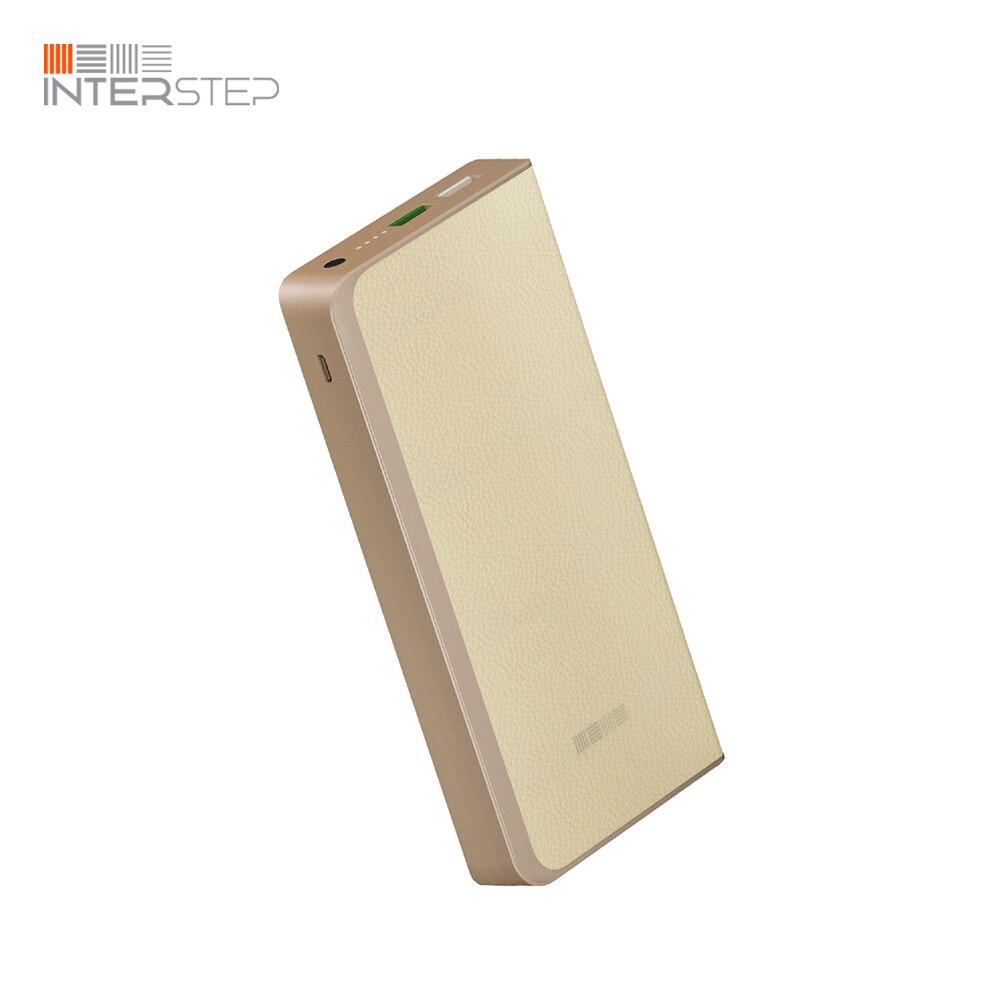 External Battery INTERSTEP PB12000QC Light inter step pb12000qc black
