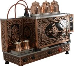KUTLU PROFESSIONAL COPPER TEA COFFEE MACHINE