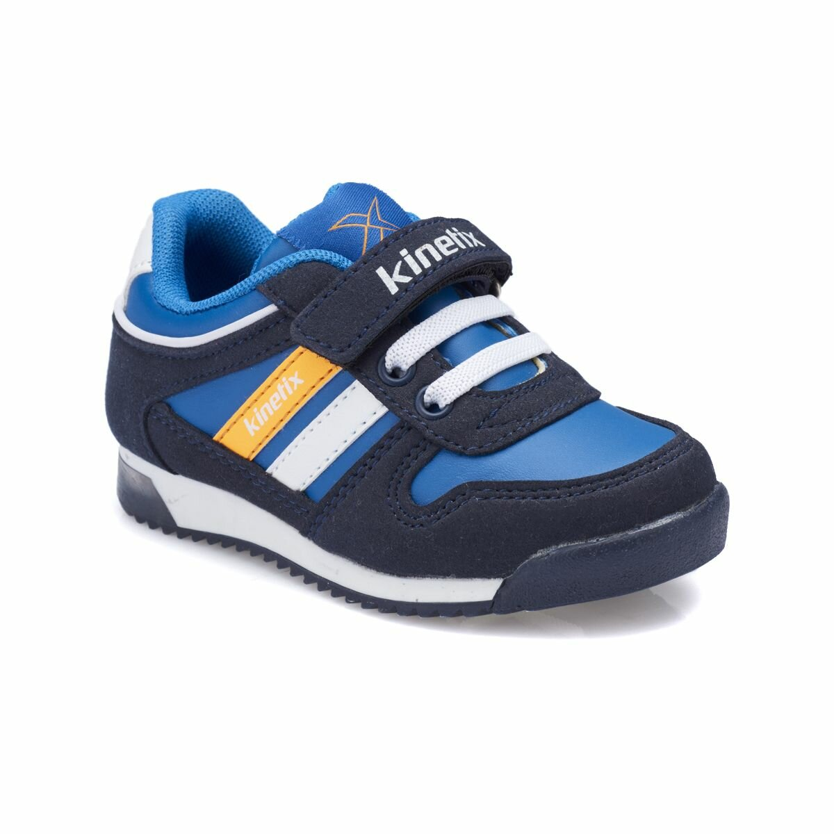 FLO FEMAND PU Navy Blue Male Child Sneaker Shoes KINETIX