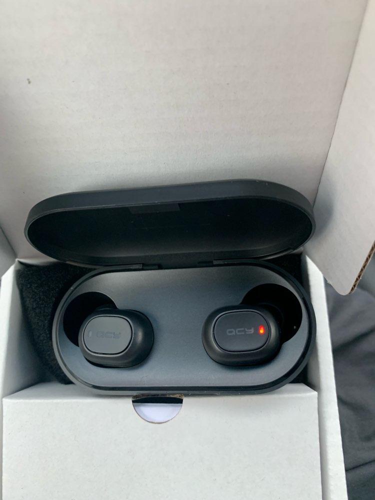 QCY QS2 TWS Mini Dual V5.0 Bluetooth Earphones True Wireless Headsets 3D Stereo Sound Earbuds Dual Microphone Charging box|Phone Earphones & Headphones| |  - AliExpress