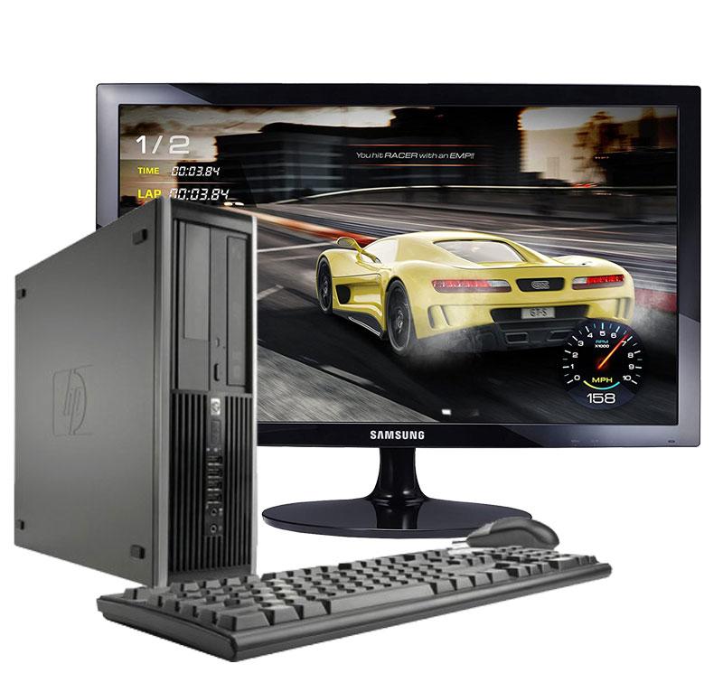 Hp Elite 8300-desktop Computer + Monitor 24 ''(Intel Core I5-3470, 8 Hard GB RAM, 240 SSD Disk, DVD Reader, Windows 10